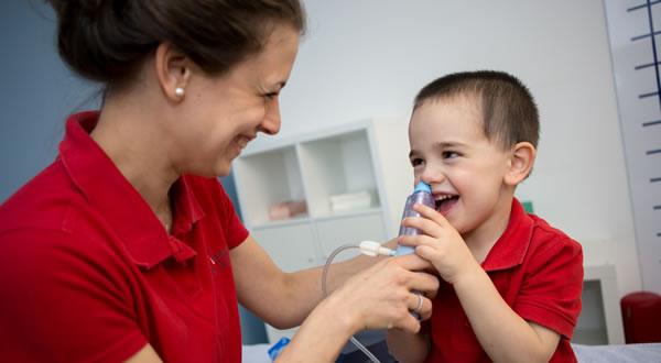 fisioterapia respiratoria pediatrica
